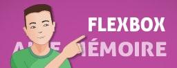Infographie : Flexbox Aide mémoire visuel des propriétés CSS