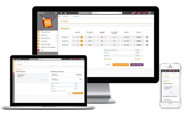 Design d'applicatif d'e-commerce