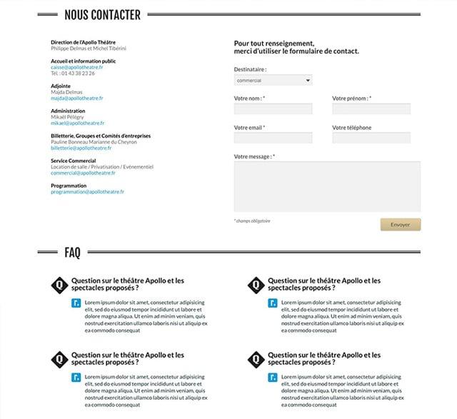 Graphiste thème Wordpress
