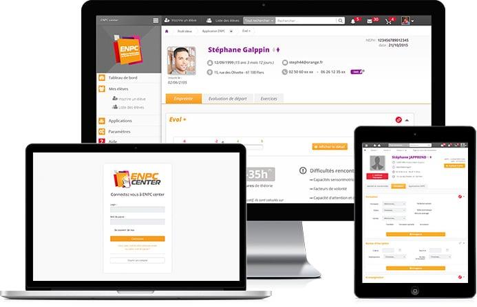 Webdesign et intégrateur Web pour dashboard
